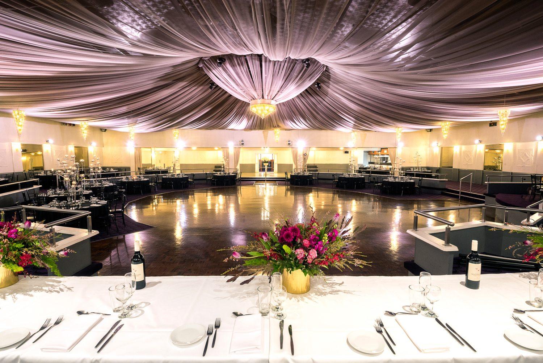 Ballroom with canopy